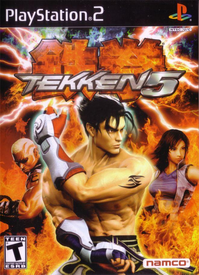 Tekken 5 - Cover