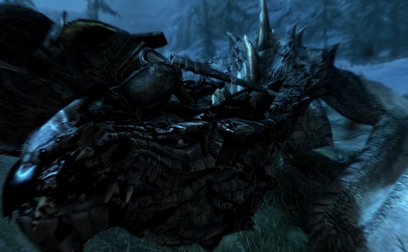Skyrim Diaries #4: Conquering the Dragons and Argonian Discrimination